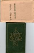 Carnet Diplome Porrentruy 1931( Bon Etat ) - Vieux Papiers