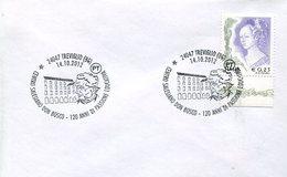 17201 Italia, Special Postmark 2012 Treviglio,  Salesian, Don Bosco, 120 Year Of Passion - Cristianismo