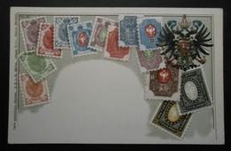 Russie - CPA Précurseur Avant 1906, Allégorie Timbres TP, Philatélie, Pays : Russie - Sellos (representaciones)