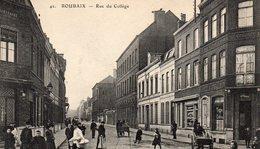 612Bc  59 Roubaix Rue Du Collége - Roubaix