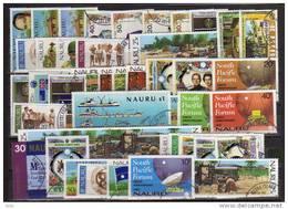 Ile Nauru.  50 T-p Oblitérés. Tous Grands Formats.  Cote 43.50 €. Bas Prix - Nauru