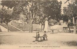 DROME 26 SAILLANS LE PRIEURE MONUMENT DE LA REPUBLIQUE TBE Photo Scane - Otros Municipios
