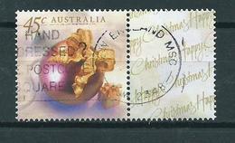 1999 Australia Greetings+tab Used/gebruikt/oblitere