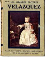 LOS GRANDES PINTORES  VELAZQUEZ   HISPANO AMERICA  N° 2   80 PAGES BELLES ILLUSTRATIONS PRESENTES - Histoire Et Art