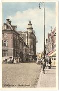 Eindhoven - Marktstraat - Spaarbank - Geanimeerd - 1952 - Uitgave Jos. M. H. Nuss, Eemnes - Eindhoven