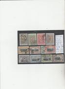 TIMBRES DE ROUMANIE OBLITEREES NR 168/71-172/78-177a    1905-06    COTE 24.75 € - 1881-1918: Charles Ier