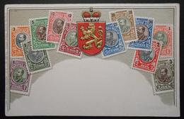 Bulgarie - CPA Précurseur Avant 1906, Allégorie Timbres TP, Philatélie, Pays : Bulgarie - Sellos (representaciones)