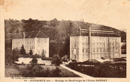 612Bc  89 Jujurieux Ménage Et Moulinage De L'usine Bonnet - Other Municipalities