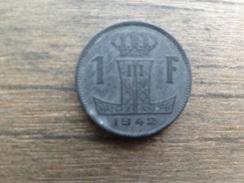 Belgique  1  Franc  Fl-fr  1942  Km 128 - 1934-1945: Leopold III