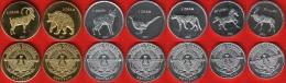Nagorno-Karabakh Set Of 7 Coins: 50 Luma - 5 Drams 2013 UNC
