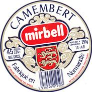 ETIQUETTE  DE CAMEMBERT  LE GRAND BERON CLECY 14 AB OU 14 162 - Cheese