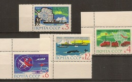 RUSSIA & USSR 1963, Arctica And Antarctica - Other Means Of Transport