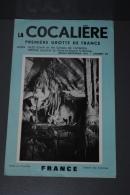 Ancienne Brochure Touristique La Cocalière Première Grotte De France Alès Gard Mende Lozère - Dépliants Touristiques