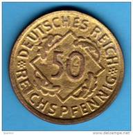 COPIA   WEIMAR     50 Reichspfennig 1924 F     COPY      ALEMANIA GERMANY DEUTSCHLAND - [ 3] 1918-1933 : República De Weimar