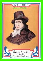 CÉLÉBRITÉS HISTORIQUES - CAMILLE DESMOULINS (1760-1794) BICENTENAIRE DE LA RÉVOLUTION FRANÇAISE - EQUINOXE DIFFUSION, 89 - Personnages Historiques