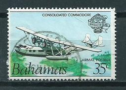 1983 Bahamas Airplane,vliegtuig Used/gebruikt/oblitere - Bahama's (1973-...)