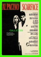 """AFFICHES DE FILM - """"SCARFACE """" - ARTISTE, AL PACINO  - ÉDITIONS, HUMOUR À LA CARTE - - Affiches Sur Carte"""