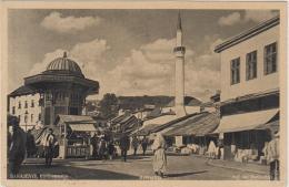 AK - SARAJEVO -  Auf Der Bascarsija 1944 - Bosnien-Herzegowina