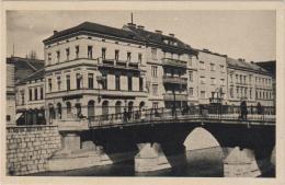 """AK - SARAJEVO -   """"Lateinerbrücke""""  1944 - Bosnien-Herzegowina"""