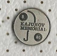 Slovenia Pin - Table Tennis Tournament 8 Kajuhov Memorial 1980 - Tennis Tavolo