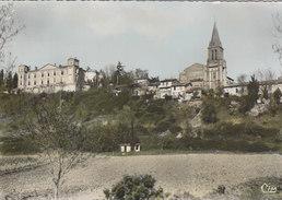 CASTELNAU  D ' ESTREFONDS   LE CHATEAU ET L EGLSIE - Autres Communes