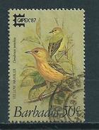 1987 Barbados Capex Overprint,birds,oiseaux,vögel Used/gebruikt/oblitere