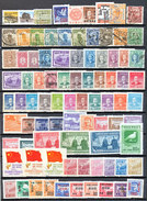 WARNING NO SELLING OUTSIDE DELCAMPE SYSTEM MOST STAMPS FROM CHINA  MIXED CONDITION10 PICTURES - Timbres