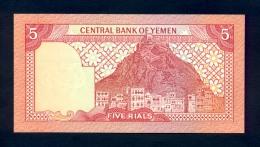 Banconota Yemen 5 Rials 1981 FDS - Yemen