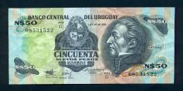 Banconota Uruguay 50 Pesos 1978/87 - Uruguay