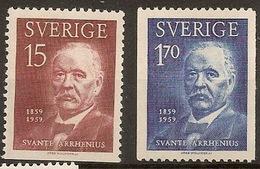 SWEDEN, 1959, S. Arrhenius
