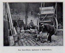 1935  --  93 SEINE SAINT DENIS  --   RUE SAINT DENIS   LA ZONE A AUBERVILLIERS    C.699 - Collections