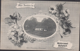 Mes Amities De Watermael-Boitsfort Watermaal Bosvoorde ZELDZAAM RARE CPA Oude Postkaart - Watermael-Boitsfort - Watermaal-Bosvoorde
