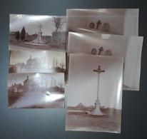 Lot De 6 Photos Anciennes Dont 2 Doubles LOIGNY La Bataille (28) - Photos