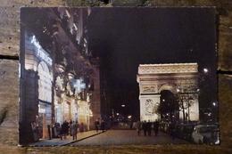 75, PARIS, L'ARC DE TRIOMPHE ILLUMINE, 1968 - Arc De Triomphe