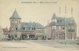 DUINBERGEN S/MER : Hotel - Station Du Vicinal - Belgique