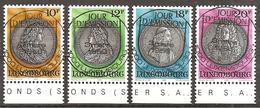 Luxemburg 1986 // Michel 1143/1146 O