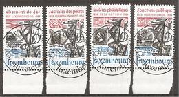 Luxemburg 1984 // Michel 1091/1094 O