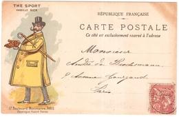 CPA.ILLUSTRATEUR INCONNU.PUB DU MAGASIN THE SPORT.17 BOULEVARD MONTMARTRE - France
