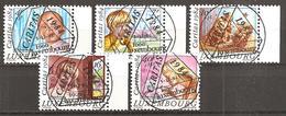 Luxemburg 1984 // Michel 1112/1116 O