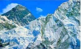 Nepal - Mt. Everest - 6 - Formato Grande Viaggiata - E - Nepal