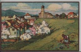 Oberbüren-Neudorf - Litho Aug. M. Bächtiger - SG St. Gall