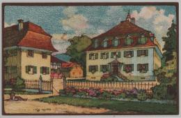 Erziehungsanstalt Thurhof Oberbüren - Litho Aug. M. Bächtiger - SG St. Gall
