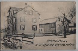 Oberbüren - Alois Rütsche, Getreidehandlung - Litho Leopold Guggenheim No. 98844 - SG St. Gall