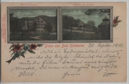 Gruss Aus Bad Kobelwies - Bad Und Pension, Veranda Und Pavillon - Photo: H. Dinkelacker - SG St. Gall