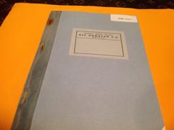 Imprimerie Librairie Papeterie Epinal Entreprises Heures Paie 1983 - Blotters