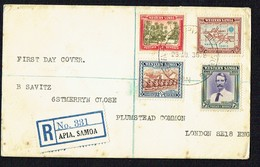1939  New Zealand Control Of Western Samoa 25 Years   FDC - Samoa