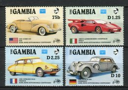 Gambia 1986. Yvert 598-601 ** MNH. - Gambie (1965-...)