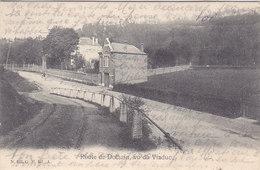 Route De Dolhain, Vu Du Viaduc (G H Edit., 1905, Hôtel De Béthane) - Limbourg