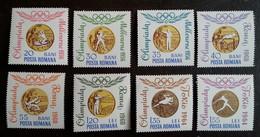 ROUMANIE - YT N°2068 à 2075 - Médailles D'or Aux Jeux Olympiques / Sports - 1964 - Neufs - 1948-.... Republics