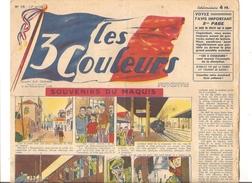 Les 3 Couleurs N°10 Du 30/01/1945 SOUVENIRS DU MAQUIS - Livres, BD, Revues